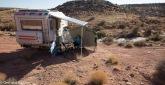 Stellplatz in der Wüste bei Goosenecks