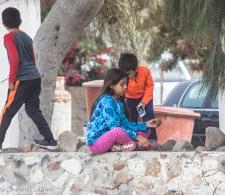 Kinder in Bahia Asuncion