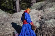 Tarahumara Frau