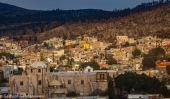 Zacatecas bunte Häuser