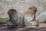 Symbol der Herrschaft Doppelköpfiger Jaguar