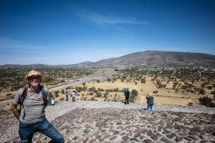 Bilcjk auf die Mondüpyramide