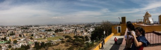 Blick auf Puebla