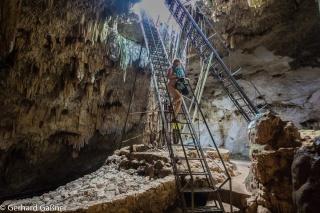 Einstieg in die Cenote