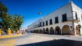 Valladolid Kolonialgebäude