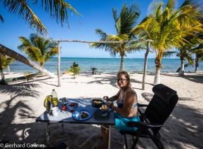 Schnitzerl Heimatgefühle am karibischen Meer